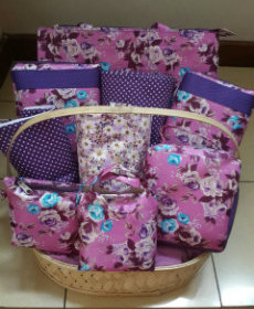 Ramadan Gift Purple Flowers